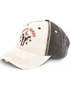 Cody James Men's Skull Head Logo Cap , Tan, hi-res