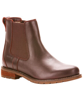 Ariat Women's Dark Brown Wexford H20 Boots - Round Toe , Mahogany, hi-res