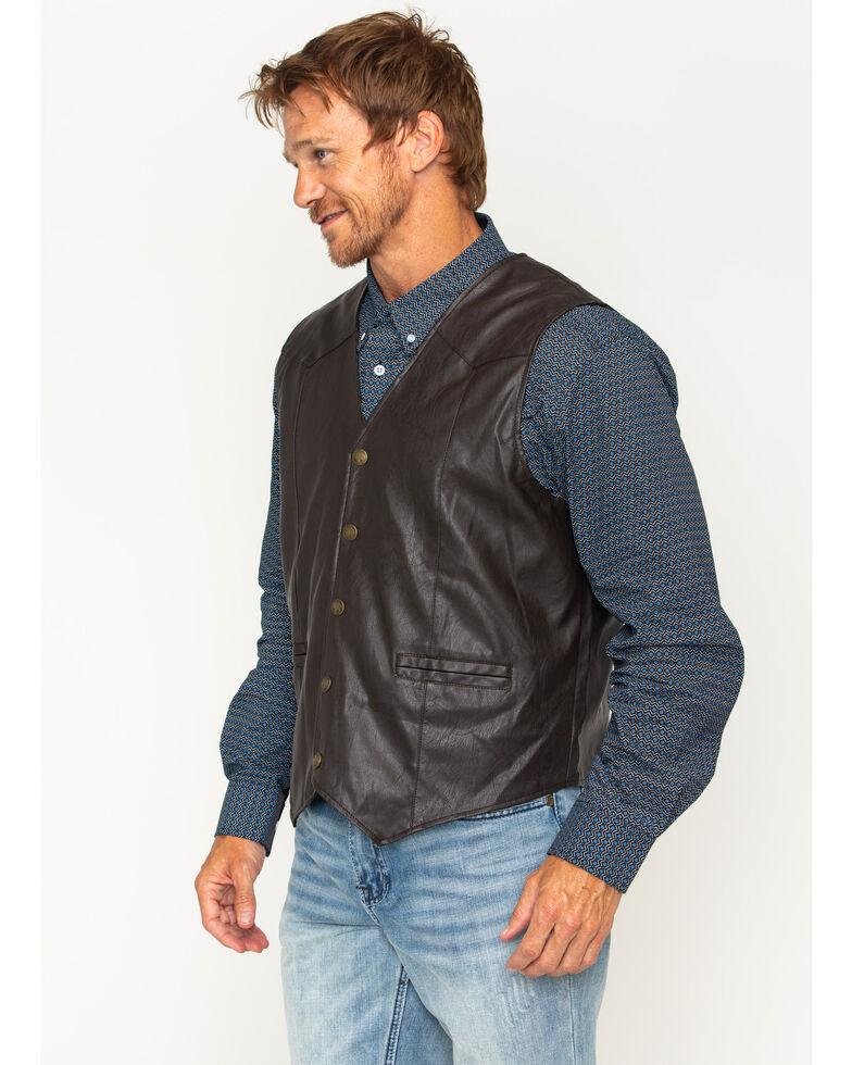 Cody James Men's Brown Deadwood Vest, Brown, hi-res