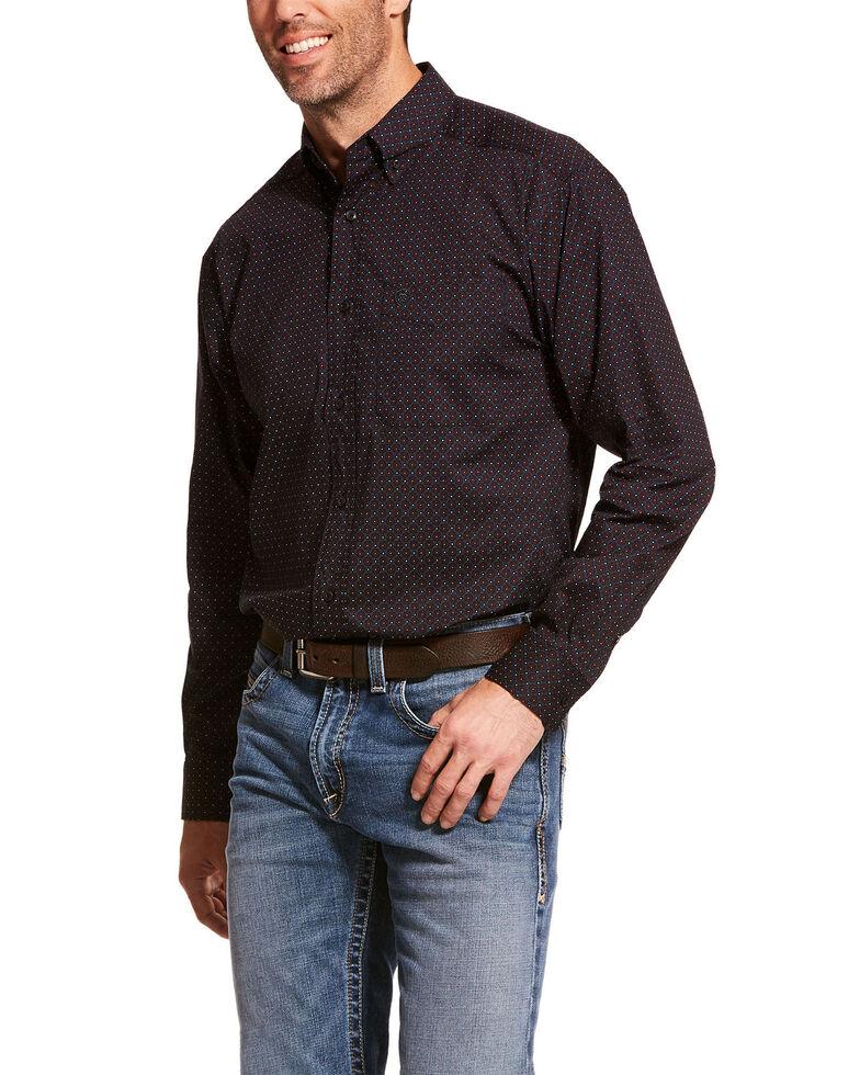 Ariat Men's Dasantos Stretch Geo Print Long Sleeve Western Shirt , Multi, hi-res