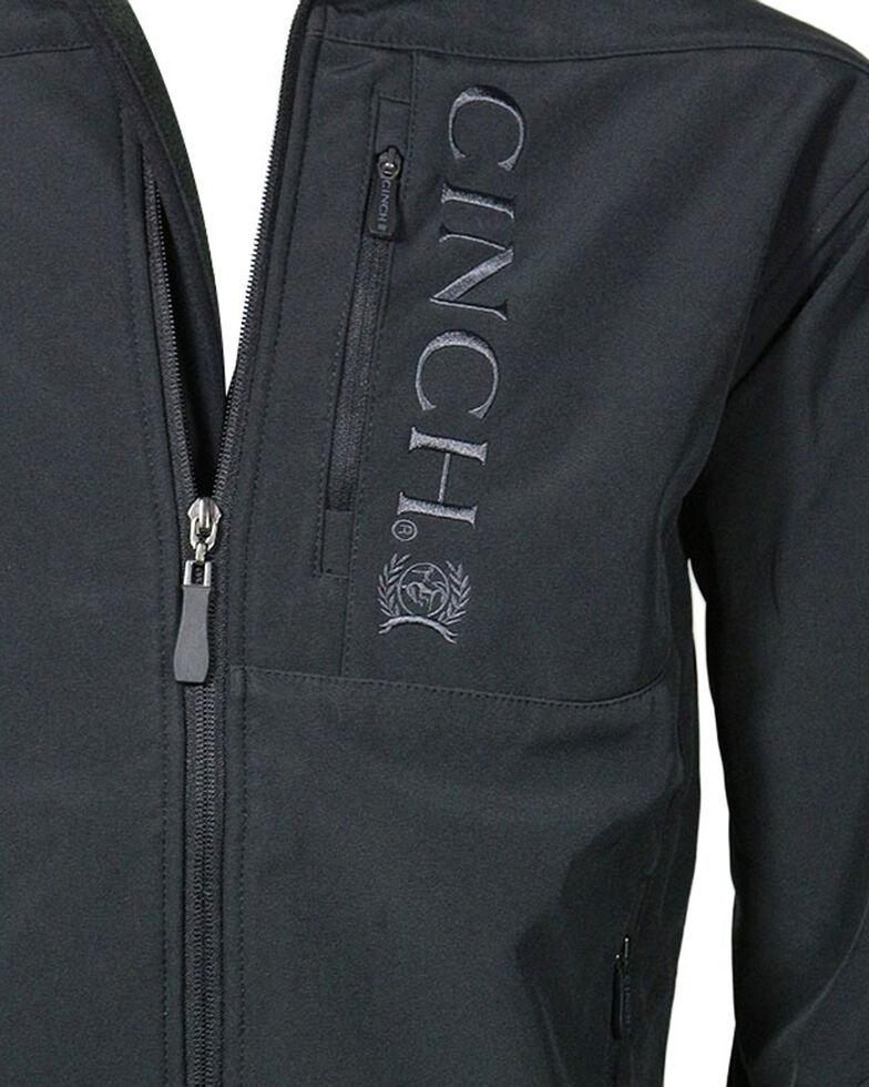 Cinch Men's Black 3XL Bonded Jacket - Big , Black, hi-res