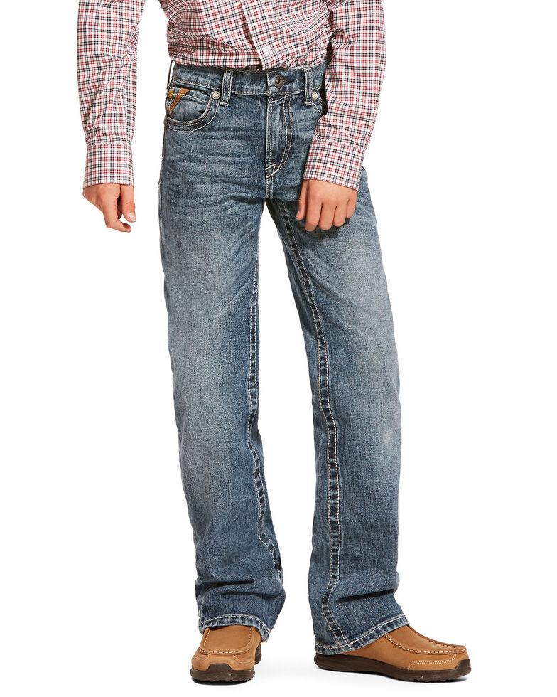 Ariat Boys' B5 Drifter Light Slim Straight Jeans , Blue, hi-res