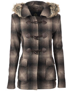 STS Ranchwear Women's The Story Wool Jacket - Plus, Brown, hi-res