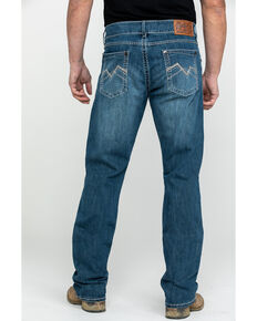 Rock 47 By Wrangler Men's Voice Medium Slim Boot Cut Jeans , Blue, hi-res
