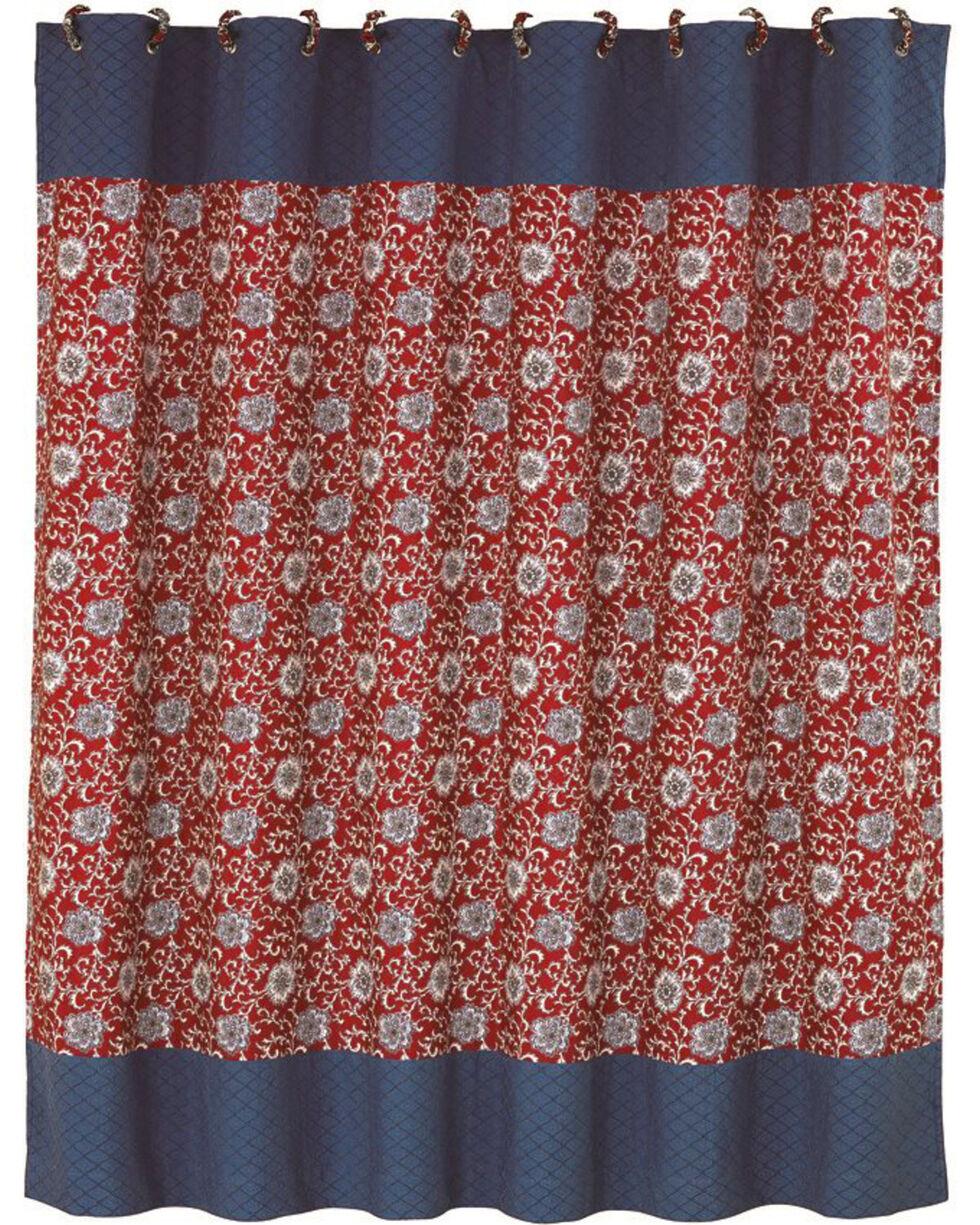 HiEnd Accents Bandera Shower Curtain, Multi, hi-res