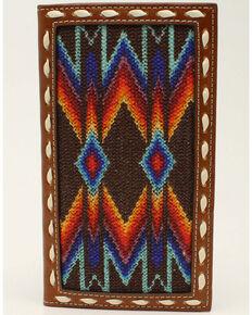 Nocona Men's Multicolored Rodeo Wallet, No Color, hi-res