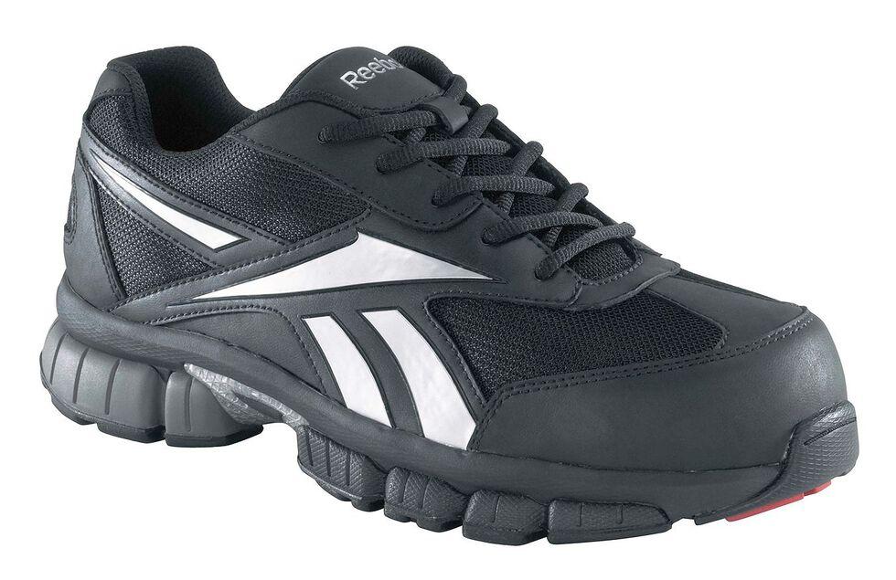 Reebok Women's Performance Cross Trainer Work Shoes - Composite Toe, Black, hi-res