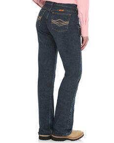 Wrangler Women's FR Crosshatch Jeans , Indigo, hi-res
