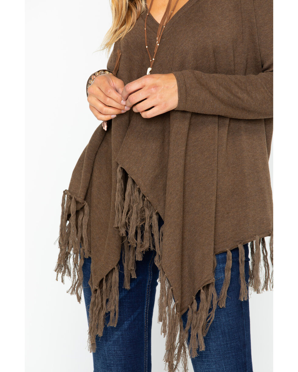 Tasha Polizzi Women's Waco Sweater, Brown, hi-res