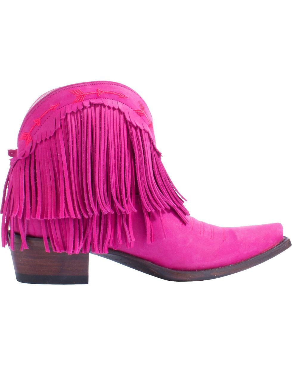 Junk Gypsy by Lane Women's Pink Spitfire Booties - Snip Toe , Pink, hi-res