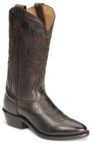 Tony Lama Regal Americana Boots - Medium Toe, Black Cherry, hi-res