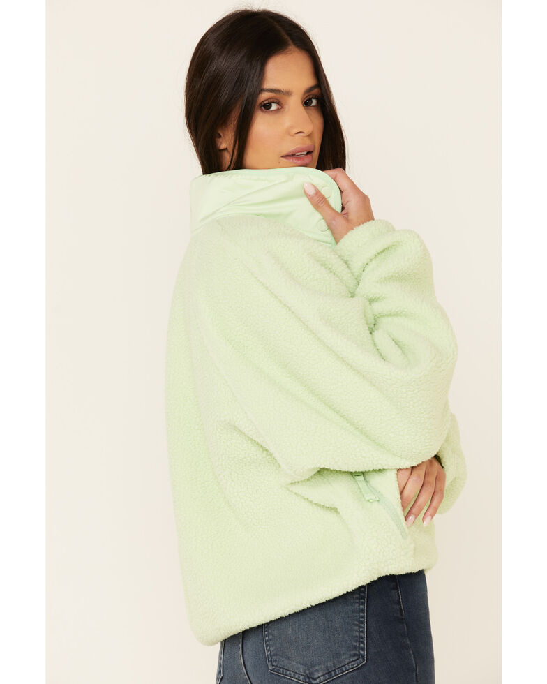 Free People Women's Hit The Slopes Pullover, Gray, hi-res