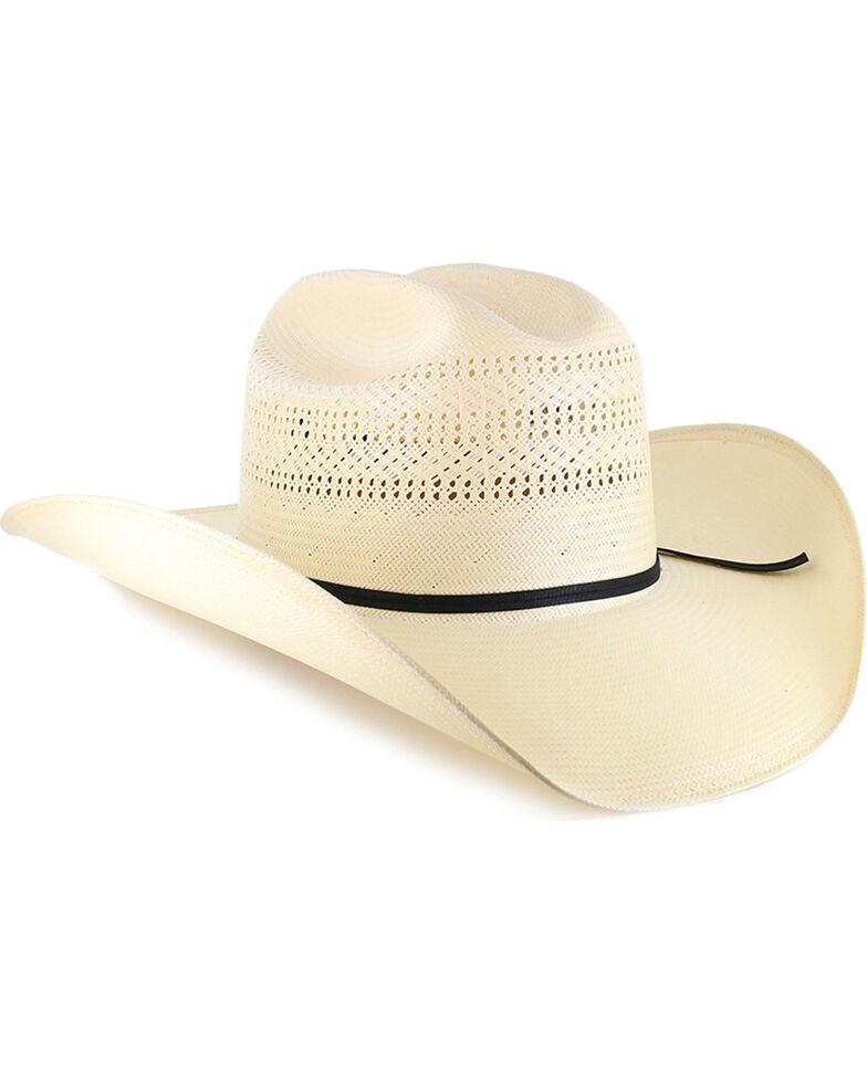 Resistol 20X Chase Straw Cowboy Hat, Natural, hi-res