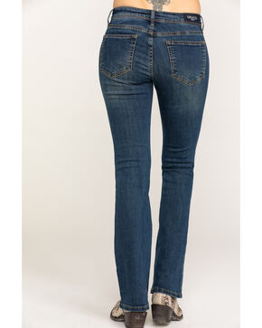 "Grace in LA Women's Medium Clean Bootcut 32"" Jeans, Blue, hi-res"