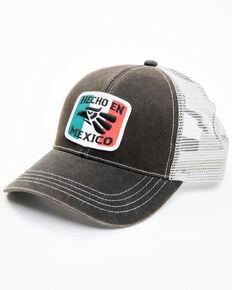 Cody James Men's Hecho En Mexico Patch Mesh-Back Ball Cap , Black, hi-res
