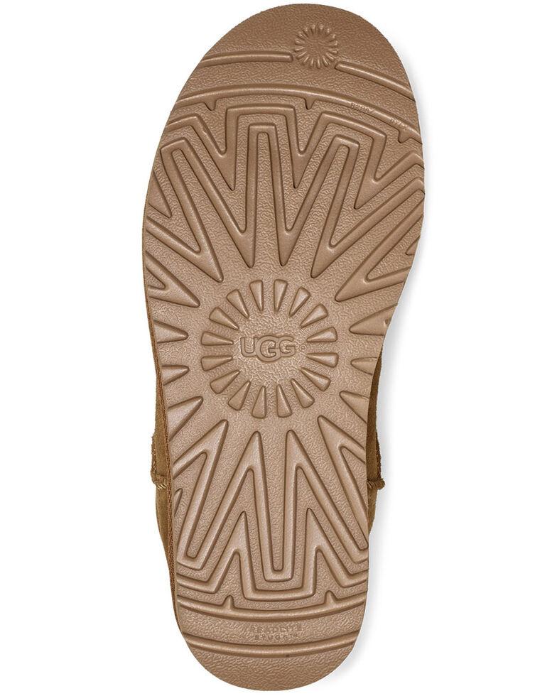 UGG Women's Chestnut Classic Mini Boots - Round Toe, Chestnut, hi-res