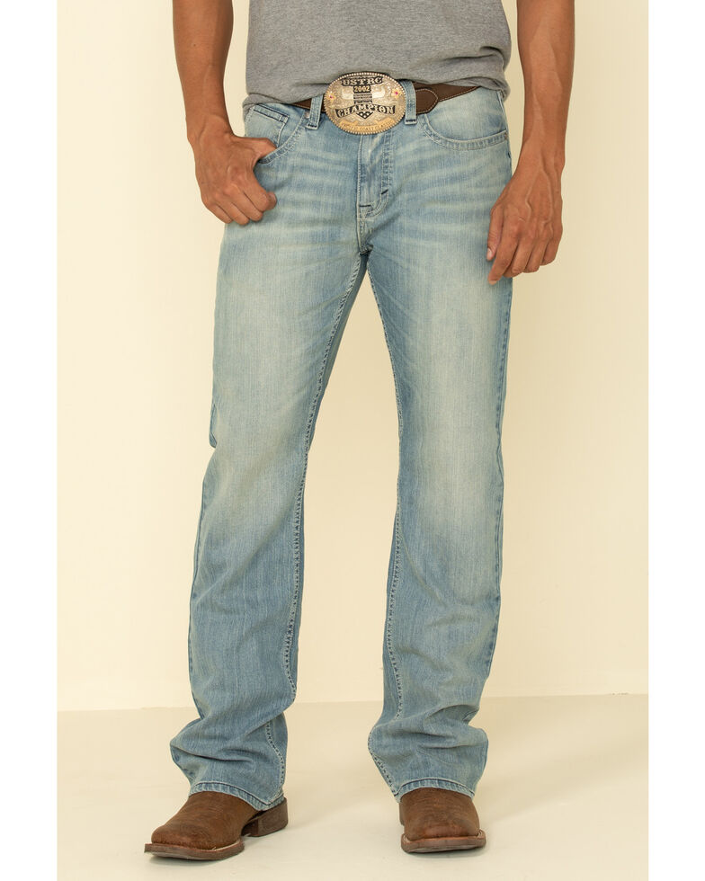 Cody James Men's Crupper Light Stretch Slim Boot Jeans , Blue, hi-res