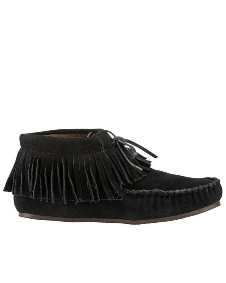 Lamo Footwear Women's Black Ava Slippers - Moc Toe, , hi-res