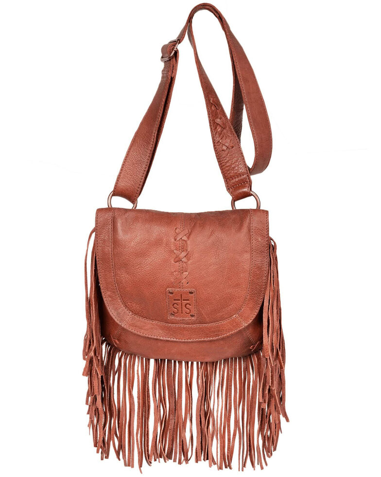 STS Ranchwear Women's Daydreamer Crossbody Bag, Red/brown, hi-res