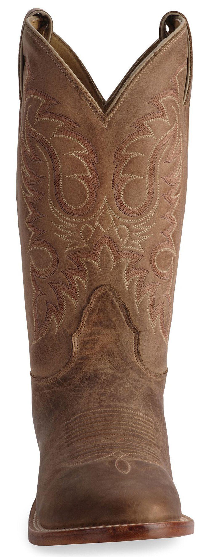Nocona Legacy Series Vintage Cowboy Boots - Round Toe, Tan, hi-res