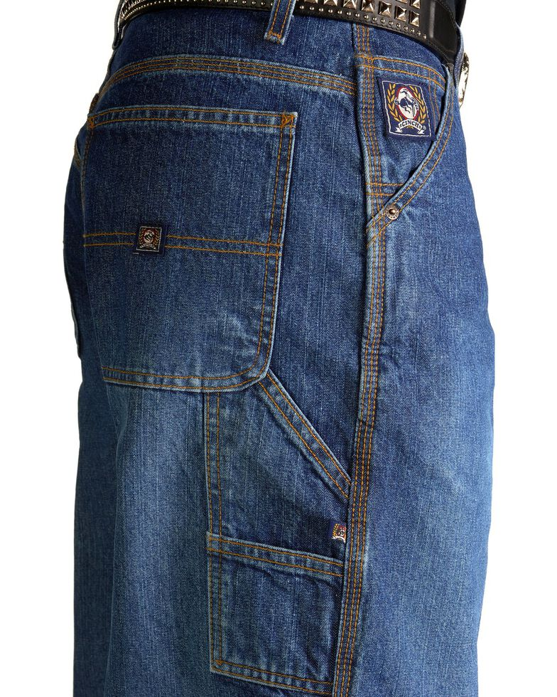 "Cinch Jeans - Blue Label Utility Fit - 38"" Tall Inseam, Vintage, hi-res"