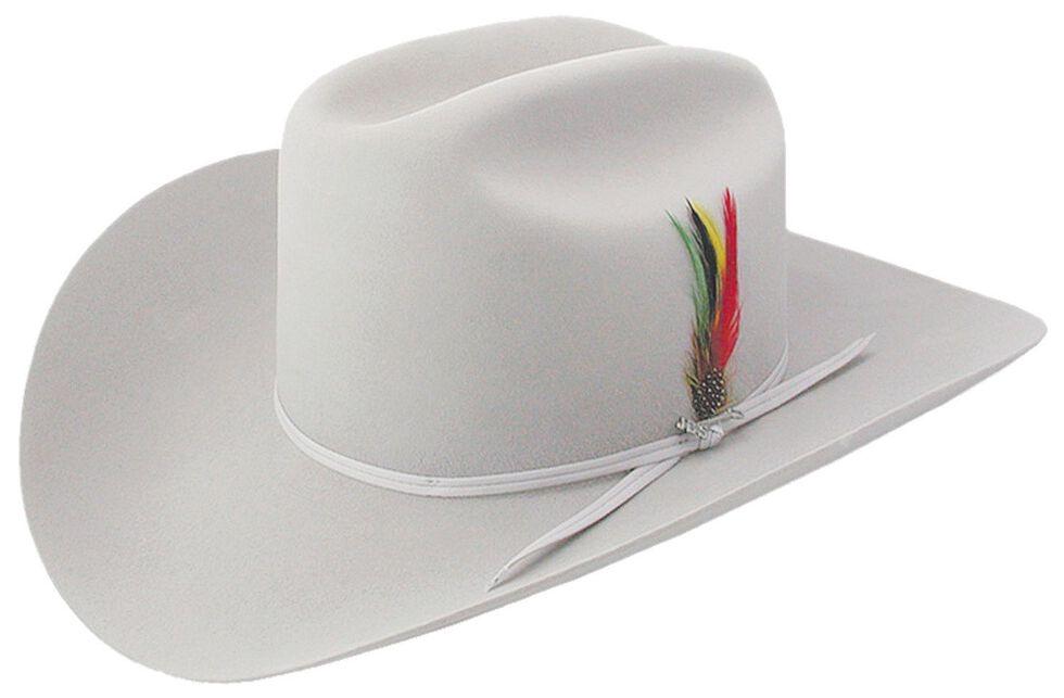 Stetson 6X Silverbelly Rancher Fur Felt Cowboy Hat, Silverbelly, hi-res