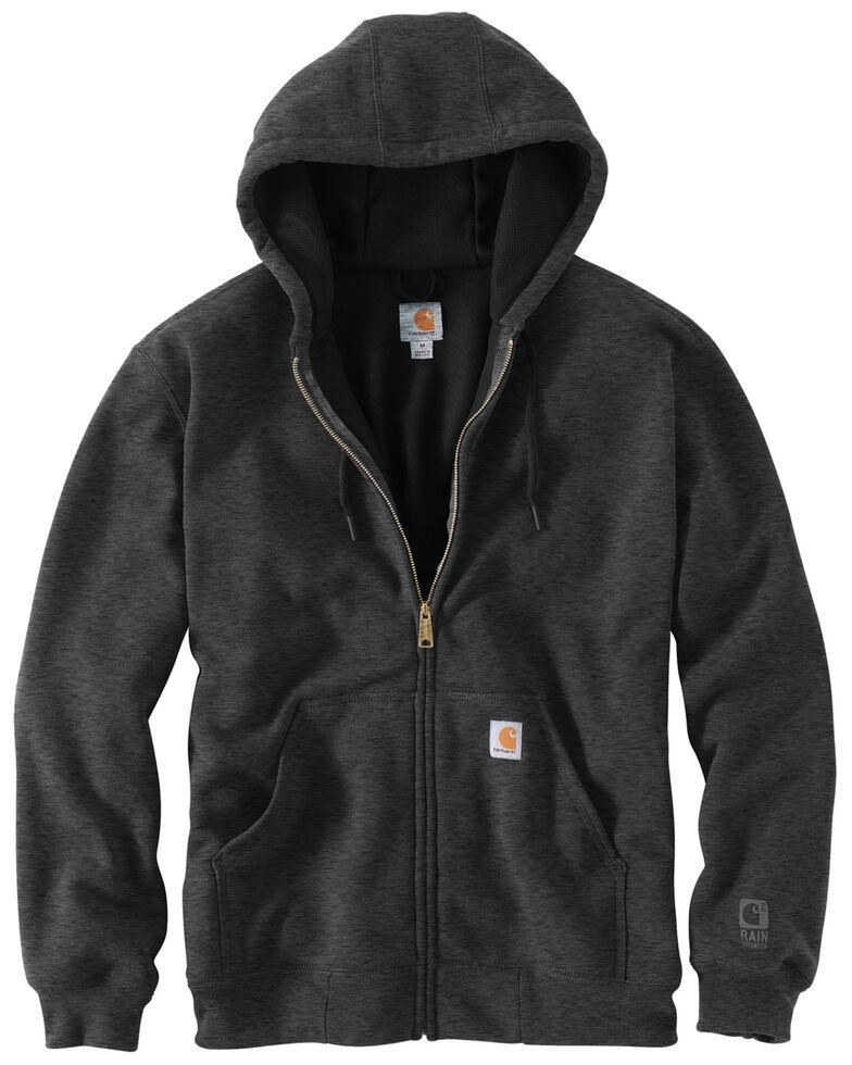 Carhartt Men's Thermal Lined Hooded Zip Jacket - Big & Tall, Charcoal, hi-res