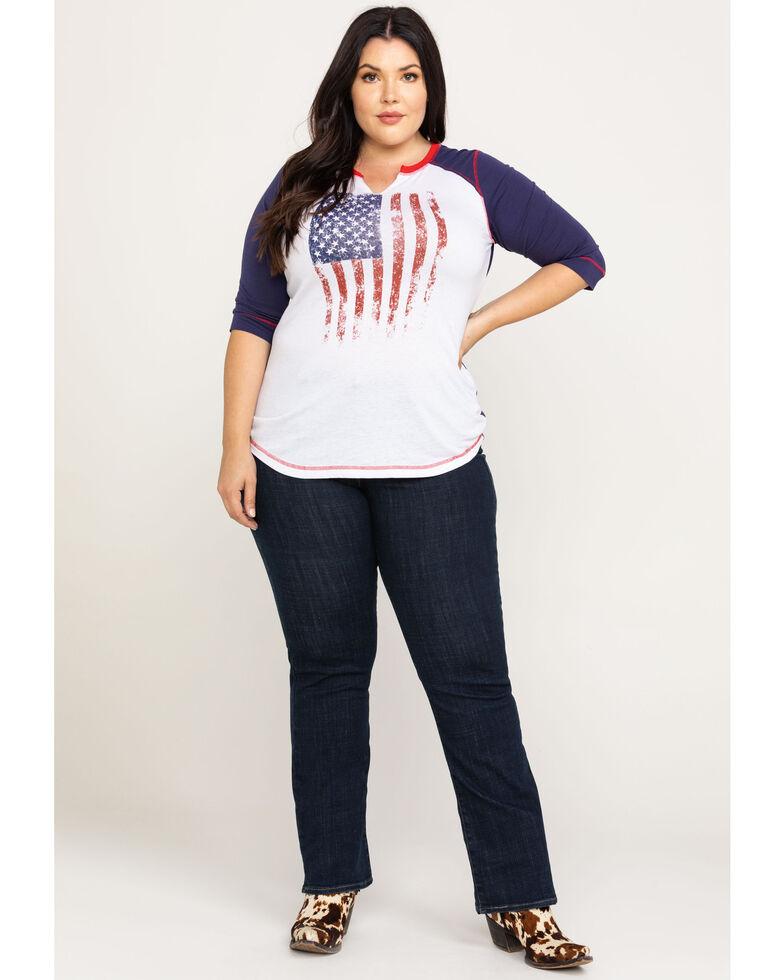 Levi's Women's Island Rinse Classic Bootcut Jeans - Plus, Blue, hi-res