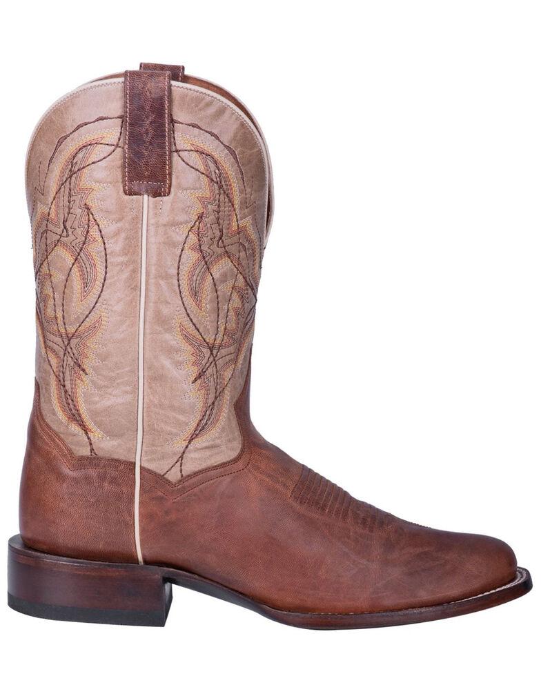 Dan Post Men's Cunningham Western Boots - Round Toe, Brown, hi-res