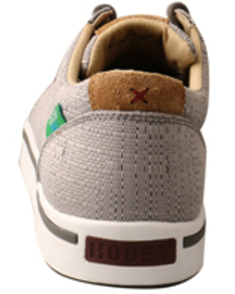 Twisted X Men's HOOey Loper Shoes - Moc Toe, Grey, hi-res