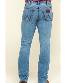 Wrangler Retro Men's Crofton Premium Stretch Light Boot Jeans , Blue, hi-res