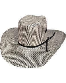 b5e4d7c09dfb0 Bullhide Men s Black Smoke Straw Cowboy Hat