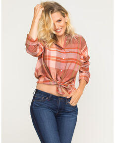 Idyllwind Women's Desert Sun Top, Rust Copper, hi-res