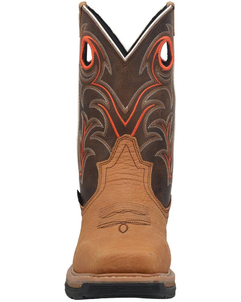 Dan Post Men's Storm's Eye Western Work Boots - Composite Toe, Brown, hi-res