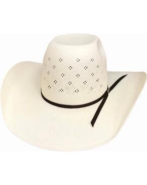 Bullhide Men's 100X Tyler Harr Hot Streak Straw Cowboy Hat , Natural, hi-res