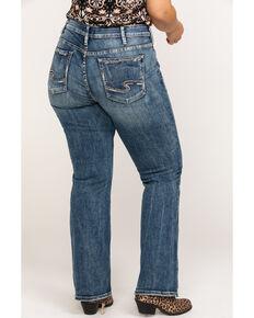 e657e58dc0e Silver Women s Elyse Mid-Rise Curvy Relaxed Slim Boot Cut Jeans - Plus