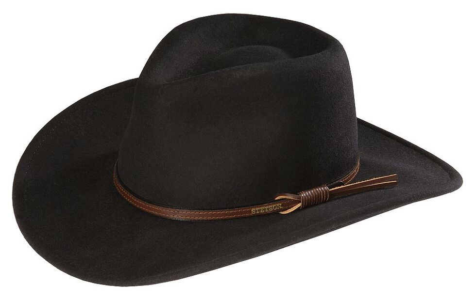 80ec0ab82a Stetson Bozeman Wool Felt Crushable Cowboy Hat - Country Outfitter