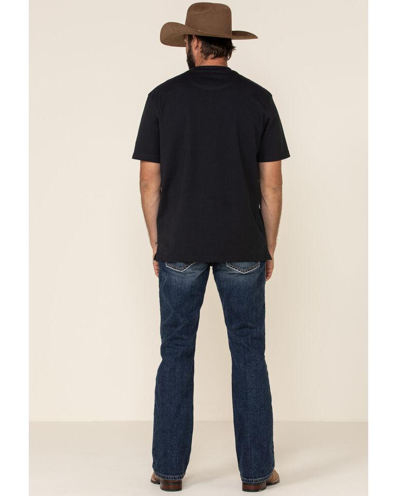 Ariat Men's M4 Pine Low Rise Stretch Boot Cut Jeans - Big  , Blue, hi-res