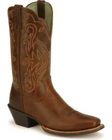 Ariat Rebel Legend Western Boots, Russet, hi-res