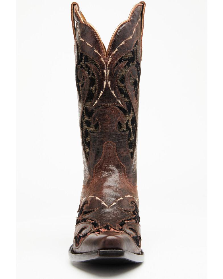 Shyanne Women's Lissa Western Boots - Snip Toe, Brown, hi-res