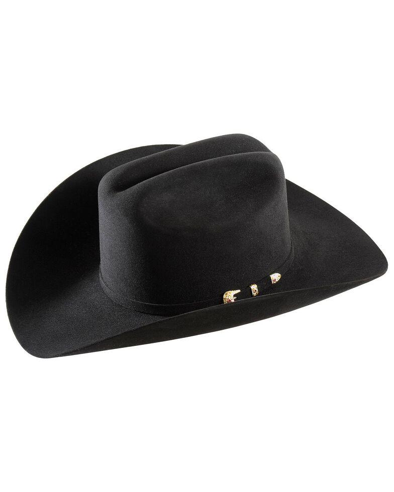 Larry Mahan 30X Magno Fur Cowboy Hat, Black, hi-res