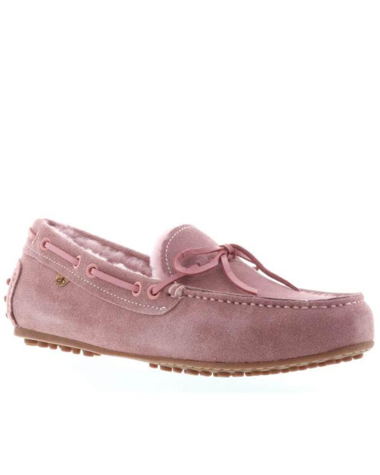 Lamo Women's Georgia Casual Shoes - Moc Toe, Rose, hi-res