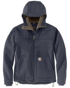Carhartt Men's Bluestone Super Dux Relaxed Fit Sherpa-Lined Work Active Jacket , Blue, hi-res