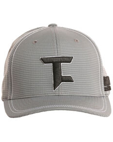 Tuf Cooper Men's Logo Embroidered Flexfit Cap, Grey, hi-res
