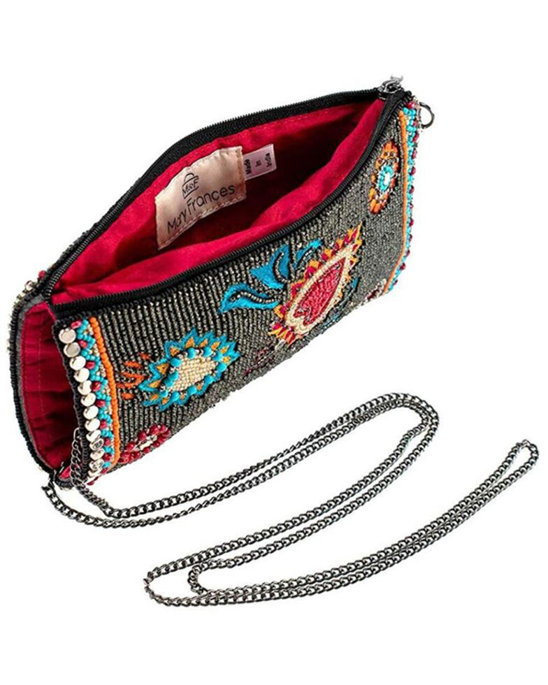 Mary Frnaces Women's Flaming Hearts Cell Phone Pouch, Multi, hi-res