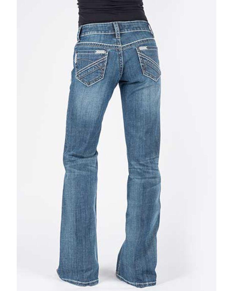 Stetson Women's Medium Aztec 214 City Trouser Jeans, Blue, hi-res