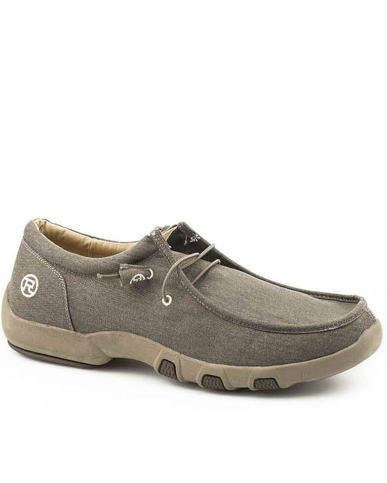 Roper Women's Chillin' Casual Shoes - Moc Toe, Brown, hi-res