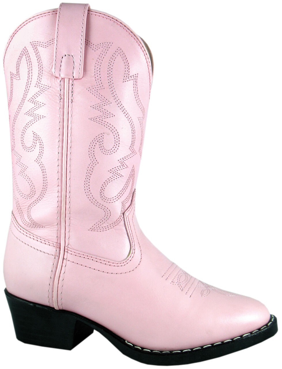 Smoky Mountain Girls' Denver Western Boots - Round Toe, Pink, hi-res