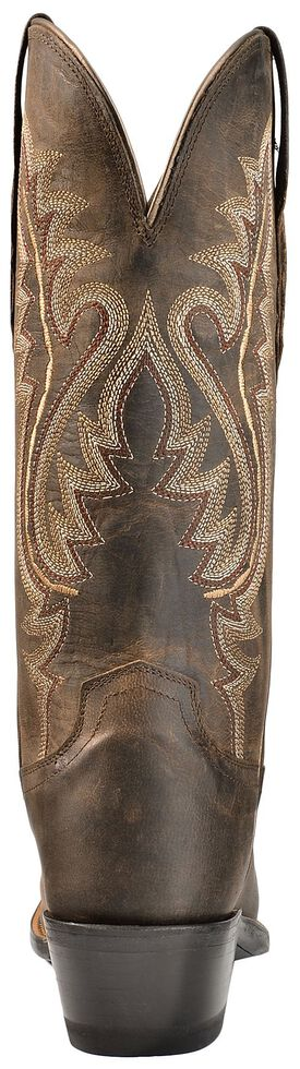 Lucchese Handmade 1883 Madras Goat Cowgirl Boots - Snip Toe, Chocolate, hi-res