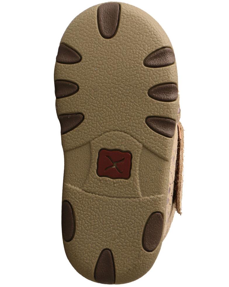 Twisted X Infant Girls' Moc Shoes - Moc Toe, Tan, hi-res